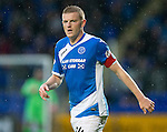 St Johnstone v Hearts…10.08.16..  McDiarmid Park…BetFred Cup<br />Brian Easton<br />Picture by Graeme Hart.<br />Copyright Perthshire Picture Agency<br />Tel: 01738 623350  Mobile: 07990 594431