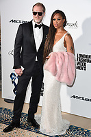 Eve and Husband<br /> at the One For The Boys Fashion Ball 2017, Landmark Hotel, London. <br /> <br /> <br /> ©Ash Knotek  D3277  09/06/2017