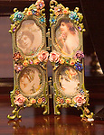 Ornate Picture Frame, Michael Negrin, Rome, Italy