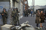 Belfast The Troubles 1980 Northern Ireland UK