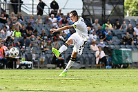 3rd January 2021; Campbelltown Stadium, Leumeah, New South Wales, Australia; A League Football, Macarthur FC versus Central Coast Mariners; Mark Milligan of Macarthur FC shoots at goal from outside the box