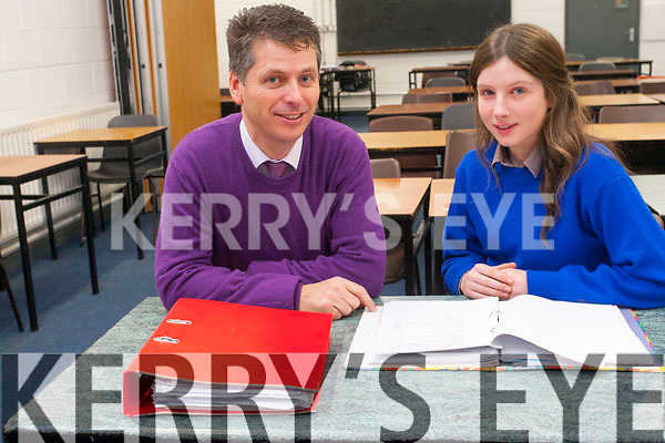 Emily Cahill from Milltown Presentation Secondary School who is a finalist in this year's Young Scientist.