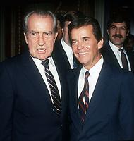 Richard Nixon Dick Clark 1984, Photo By John Barrett/PHOTOlink