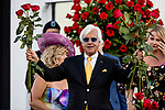 MAY 01, 2021:  Bob Baffert celebrates  winning his 7th  Kentucky Derby at Churchill Downs in Louisville, Kentucky on May 1, 2021. EversEclipse Sportswire/CSM