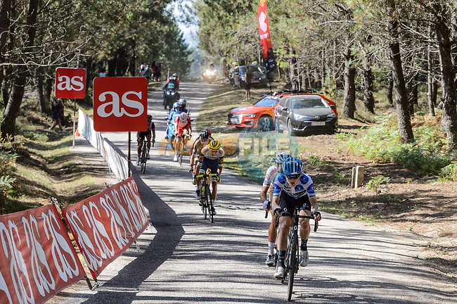 The breakaway during Stage 20 of La Vuelta d'Espana 2021, running 202.2km from Sanxenxo to Mos, Spain. 4th September 2021.    <br /> Picture: Cxcling | Cyclefile<br /> <br /> All photos usage must carry mandatory copyright credit (© Cyclefile | Cxcling)