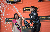Mikel Landa (ESP/SKY) wins stage 19: San Candido/Innichen › Piancavallo (191km)<br /> <br /> 100th Giro d'Italia 2017