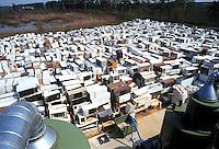 - Waste Digestion consortium of Carpi Modena) - TRED (Dismissed Electric Households Treatment), refrigerators warehouse....- Consorzio Smaltimento Rifiuti di Carpi (Modena), TRED (Trattamento Elettrodomestici Dismessi), stoccaggio frigoriferi