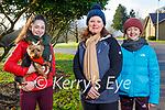 Enjoying a stroll in the Killarney National Park on Saturday, l to r: Molly, Susan and Tara Jenkinson with Ozzie the dog
