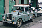Spain 1990. Spanish Land Rover Santana Series 2 109 tow truck. --- No releases available. Automotive trademarks are the property of the trademark holder, authorization may be needed for some uses. --- Info: From the mid 1950's untill the early 1990's the english Land Rover was also built under license in Spain. The spanish company Metalurgica de Santa Ana (later to become Santana Motor SA), was producing Land Rovers in the beginning from CKD kits, but local content was gradually increased until the Santanas (this is how they were called) were 100 per cent locally manufactured.