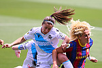 Liga IBERDROLA. Game 26.<br /> FC Barcelona vs RC Deportivo: 9-0.<br /> Cris Martinez vs Kheira Hamraoui.
