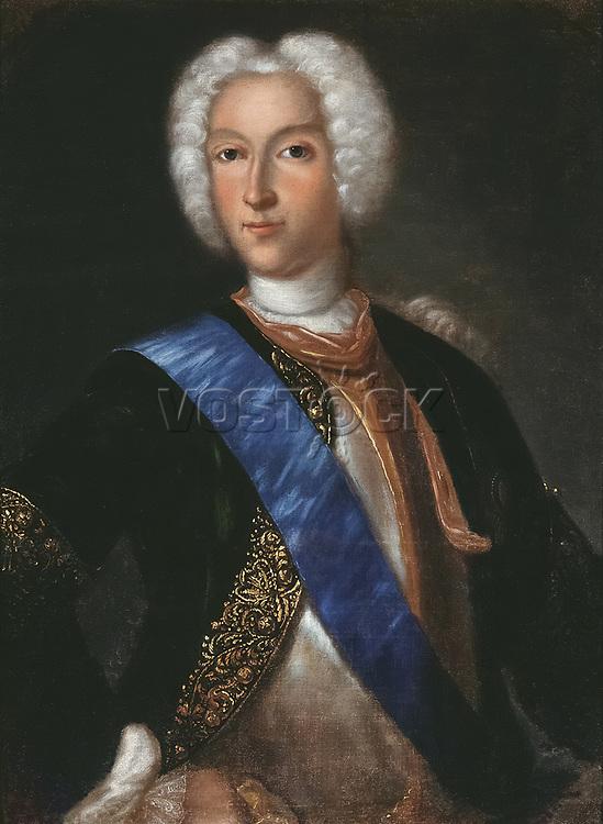 Peter II of Russia (1715-1730) by Johann Heinrich Wedekind (1674-1736) (1730s); State Art Museum, Samara;