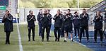 06.05.2019 Falkirk v Rangers reserves: Graeme Murty and his backroom team