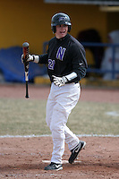 March 22nd 2009:  Third baseman Trevor Rutkowski (21) of the Niagara University Purple Eagles during a game at Sal Maglie Stadium in Niagara Falls, NY.  Photo by:  Mike Janes/Four Seam Images
