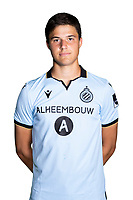20th August 2020, Brugge, Belgium;  Senne Lammens pictured during the team photo shoot of Club Brugge NXT prior the Proximus league football season 2020 - 2021 at the Belfius Base camp