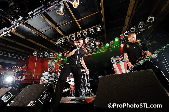 Janus from Chicago in concert at Pop's in Sauget, IL on Nov 16, 2009.