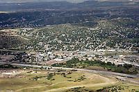 aerial of Castle Rock, Colorado