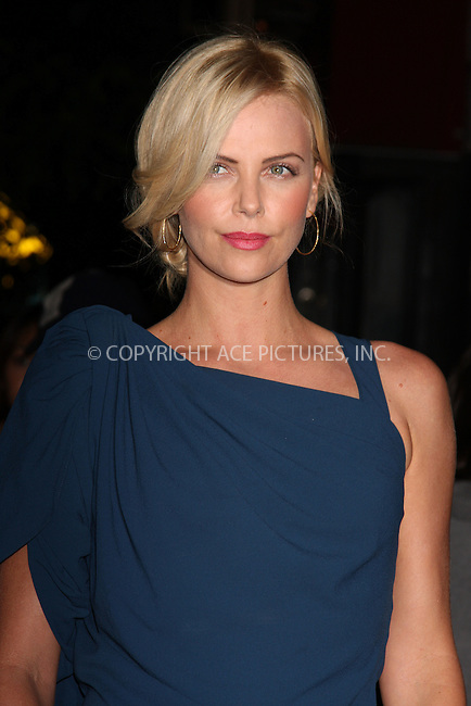 WWW.ACEPIXS.COM . . . . .  ....September 16 2009, New York City....Actress Charlize Theron arriving at 'The Burning Plain' screening at Sunshine Cinema on September 16, 2009 in New York City.....Please byline: AJ SOKLANER - ACE PICTURES.... *** ***..Ace Pictures, Inc:  ..tel: (212) 243 8787 or (646) 769 0430..e-mail: info@acepixs.com..web: http://www.acepixs.com