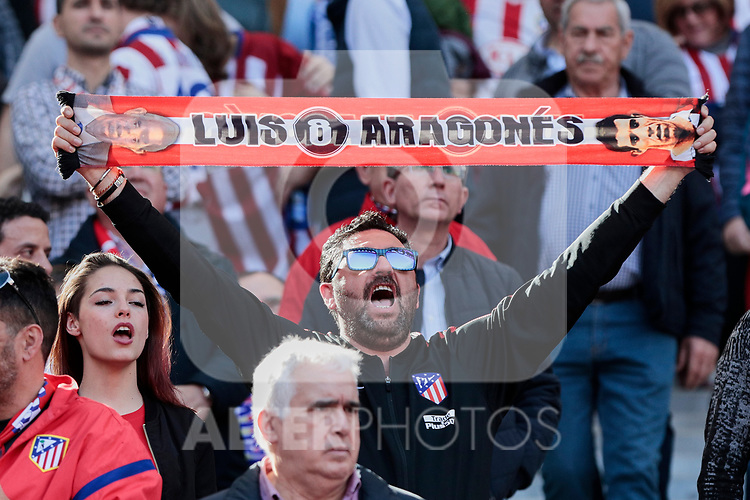 Atletico de Madrid's fan during La Liga match between Atletico de Madrid and CD Leganes at Wanda Metropolitano stadium in Madrid, Spain. March 09, 2019. (ALTERPHOTOS/A. Perez Meca)