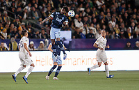 CARSON, CA - MARCH 07: Tosaint Ricketts #87 of the Vancouver Whitecaps moves with the ball during a game between Vancouver Whitecaps and Los Angeles Galaxy at Dignity Health Sports Park on March 07, 2020 in Carson, California.