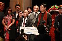 Anne Hidalgo et Zhai Jun, l'ambassadeur de Chine - CÈlÈbration du Nouvel An Chinois ‡ la Mairie de Paris, le 01/02/2017. # ZHAI JUN, L'AMBASSADEUR DE CHINE, FETE LE NOUVEL AN CHINOIS A PARIS