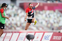 27th August 2021; Tokyo, Japan; Chiaki Takada (JPN), AUGUST 27, 2021 - Athletics : Women's Long Jump T11 Final at the Olympic Stadium <br /> during Tokyo 2020 Paralympic Games in Tokyo, Japan.