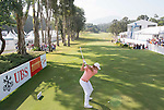 Peter Uihlein of USA tees off the first hole during the 58th UBS Hong Kong Golf Open as part of the European Tour on 11 December 2016, at the Hong Kong Golf Club, Fanling, Hong Kong, China. Photo by Vivek Prakash / Power Sport Images
