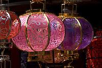 China, Peking (Beijing), auf dem Panjiayuan -Markt, Panjiayuan Lu/Dongsanhuan Nanlu, Lampion