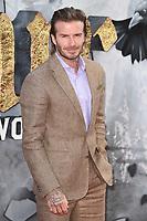 "David Beckham<br /> at the premiere of ""King Arthur:Legend of the Sword"" at the Empire Leicester Square, London. <br /> <br /> <br /> ©Ash Knotek  D3265  10/05/2017"