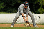 Jacob Pavletich picks up a ground ball hit to second base during the Monday Pacific Southwest v Maryland game during the 2009 Cal Ripken World Series