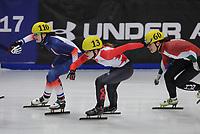 SPEEDSKATING: DORDRECHT: 2016, ISU World Short Track Speedskating Championships, Selma Poutsma #110 (FRA), ©photo Martin de Jong