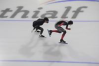 SCHAATSEN: HEERENVEEN: 13-01-2021, IJsstadion Thialf, Speed Skating training, Team Canada, ©Photo Martin de Jong