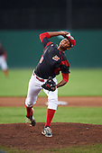 Batavia Muckdogs starting pitcher Humberto Mejia (30) during a game against the Williamsport Crosscutters on September 3, 2016 at Dwyer Stadium in Batavia, New York.  Williamsport defeated Batavia 10-0. (Mike Janes/Four Seam Images)