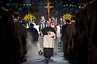 May 20, 2017; Commencement Mass closing procession 2017. (Photo by Matt Cashore/University of Notre Dame)