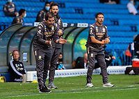Leeds United assistant manager Pablo Quiroga shouts instructions to his team from the technical area <br /> <br /> Photographer Alex Dodd/CameraSport<br /> <br /> The EFL Sky Bet Championship - Leeds United v Fulham - Wednesday 24th June 2020 - Elland Road - Leeds<br /> <br /> World Copyright © 2020 CameraSport. All rights reserved. 43 Linden Ave. Countesthorpe. Leicester. England. LE8 5PG - Tel: +44 (0) 116 277 4147 - admin@camerasport.com - www.camerasport.com<br /> <br /> Photographer Alex Dodd/CameraSport<br /> <br /> The Premier League - Newcastle United v Aston Villa - Wednesday 24th June 2020 - St James' Park - Newcastle <br /> <br /> World Copyright © 2020 CameraSport. All rights reserved. 43 Linden Ave. Countesthorpe. Leicester. England. LE8 5PG - Tel: +44 (0) 116 277 4147 - admin@camerasport.com - www.camerasport.com
