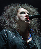 The Cure performs at Voodoo Fest 2013 in New Orleans, LA.