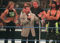 Sable Stephanie McMahon                                                  Triple H XPAC  Vince McMahon  1999                              Photo by  John Barrett/PHOTOlink