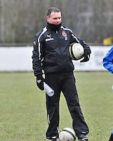 Club Brugge Dames : Karel Gobert.foto DAVID CATRY / Vrouwenteam.be