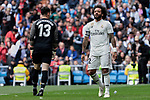 Real Madrid's Marcelo Vieira during La Liga match between Real Madrid and Athletic Club de Bilbao at Santiago Bernabeu Stadium in Madrid, Spain. April 21, 2019. (ALTERPHOTOS/A. Perez Meca)