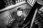 NEW YORK -- AUGUST 03, 2010:  Actor Oliver Platt poses for a portrait at Num Pang on 12th Street on August 03, 2010 in New York City.  (PHOTOGRAPH BY MICHAEL NAGLE).