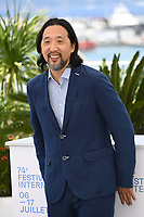 CANNES, FRANCE. July 8, 2021: Kogonada at the photocall for After Yang at the 74th Festival de Cannes.<br /> Picture: Paul Smith / Featureflash