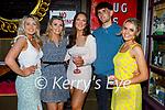 Enjoying the evening in Molly J's on Thursday, l to r:   Katelyn Healy, Katie Moynihan, Emma O'Brien, Mark Doran and Fiona Coughlan,