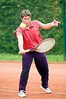 21-8-08, Netherlands, Utrecht, Nationale Veteranen Kampioenschappen, Annelies Siemons, DE 50+