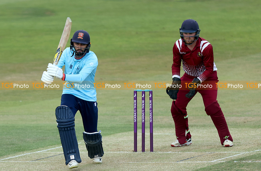 Aron Nijjar of Essex in batting action during Essex Eagles vs Cambridgeshire CCC, Domestic One-Day Cricket Match at The Cloudfm County Ground on 20th July 2021