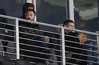 Hull City owner Ehab Allam watches the game from the director's box<br /> <br /> Photographer Alex Dodd/CameraSport<br /> <br /> EFL Papa John's Trophy - Northern Section - Group H - Hull City v Grimsby Town - Tuesday 17th November 2020 - KCOM Stadium - Kingston upon Hull<br />  <br /> World Copyright © 2020 CameraSport. All rights reserved. 43 Linden Ave. Countesthorpe. Leicester. England. LE8 5PG - Tel: +44 (0) 116 277 4147 - admin@camerasport.com - www.camerasport.com
