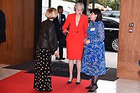Theresa May<br /> arriving for the Women of the Year Awards 2019, London<br /> <br /> ©Ash Knotek  D3526 14/10/2019