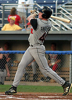 August 12, 2003:  Outfielder Josh Anderson of the Tri-City Valley Cats, Short Season Class-A affiliate of the Houston Astros, during a NY-Penn League game at Dwyer Stadium in Batavia, NY.  Photo by:  Mike Janes/Four Seam Images