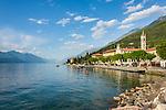 Italy, Veneto, Lake Garda, Brenzone sul Garda: district Castelletto   Italien, Venetien, Gardasee, Brenzone sul Garda: Ortsteil Castelletto am Fusse des Monte Baldo