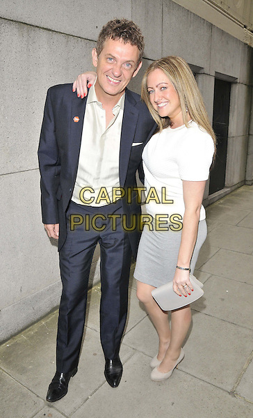 LONDON, ENGLAND - JUNE 02: Matthew Wright & Amelia Wright attend the Health Lottery VIP tea party, The Savoy Hotel, The Strand, on Monday June 02, 2014 in London, England, UK.<br /> CAP/CAN<br /> ©Can Nguyen/Capital Pictures