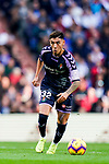 Leonardo Gabriel Suarez, Leo Suarez, of Real Valladolid in action during the La Liga 2018-19 match between Real Madrid and Real Valladolid at Estadio Santiago Bernabeu on November 03 2018 in Madrid, Spain. Photo by Diego Souto / Power Sport Images