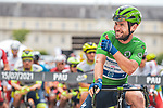 Green Jersey Mark Cavendish (GBR) Deceuninck-Quick Step lines up for the start of Stage 18 of the 2021 Tour de France, running 129.7km from Pau to Luz Ardiden, France. 15th July 2021.  <br /> Picture: A.S.O./Charly Lopez   Cyclefile<br /> <br /> All photos usage must carry mandatory copyright credit (© Cyclefile   A.S.O./Charly Lopez)